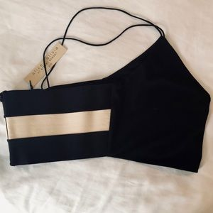 Alice + Olivia Tops - ALICE & OLIVIA Bali Fitted Crop Top Fabulous!